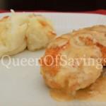Chicken Cordon Bleu & Garlic Mashed Potato Gratin