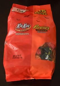 Reeses KitKat Halloween Minis