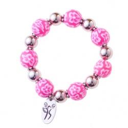 Pink Zoey Fight LIke A Girl Bracelet