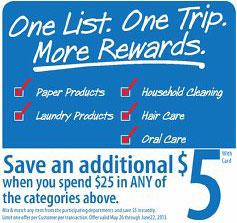 One List One Trip More Rewards
