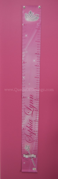 Personalized Children's Growth Chart