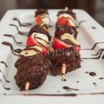 Brownie 'N Fruit Kabobs