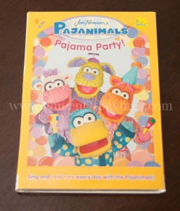 Pajanimals Pajama Party DVD