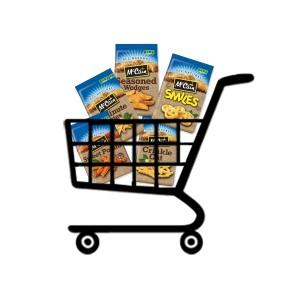 McCain Grocery Cart