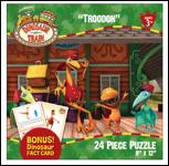 "Dinosaur Train ""Troodon"" 24-Piece Jigsaw Puzzle"