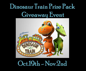 Blogger Opp - Dinosaur Train Prize Pack Giveaway Event