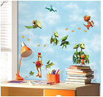 Dinosaur Train Peel & Stick Wall Decals