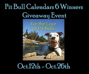 FREE Blogger Opp - Dog Park Publishing Pit Bull Calendars 6 Winners