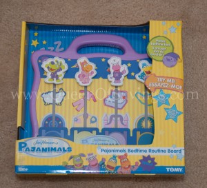 Bedtime Routine Board from TOMY
