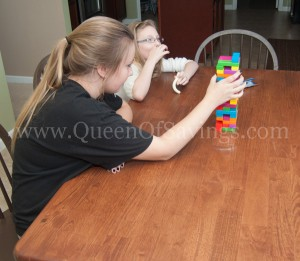 Jenga Tetris Game