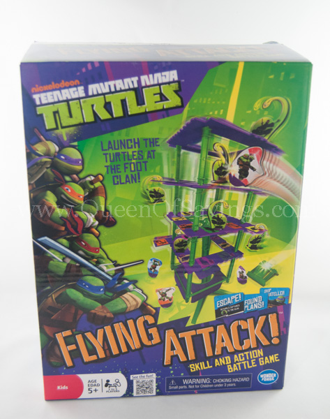Teenage Mutant Ninja Turtles Flying Attack Board Game
