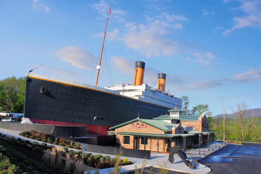 Titanic Exterior