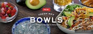Chili's New Fresh Mex Bowls
