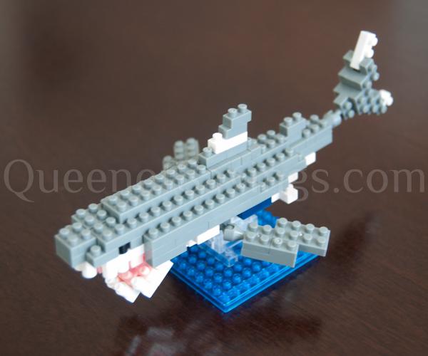 Nanoblock Great White Shark Complete