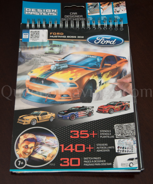 Design Masters auto sketchbook