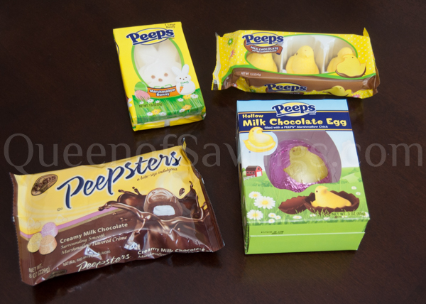 Yellow Peep in a Chocolate Egg