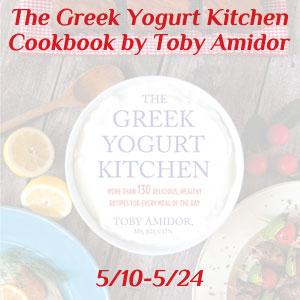 The Greek Yogurt Kitchen Cookbook Giveaway ~ Queen of Reviews