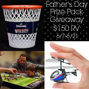 Father's Day Prize Pack Giveaway RV $150