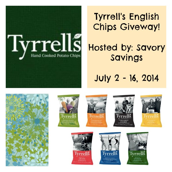 Tyrrell's English Chips Giveaway