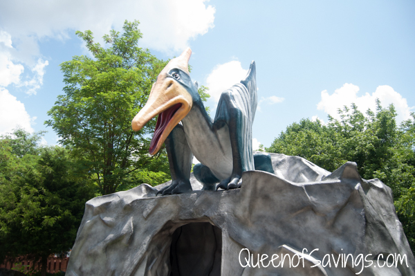 Dinosaur World Movie Entrance
