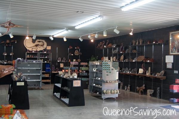 Dinosaur World Mining Gift Shop
