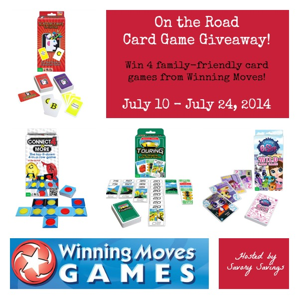On the Go Card Game Giveaway