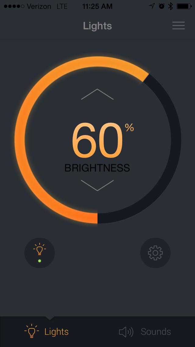 Pulse App Light Control ...