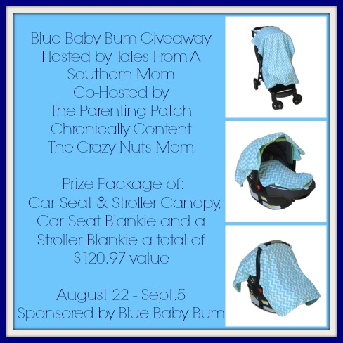 Blue Baby Bum Giveaway