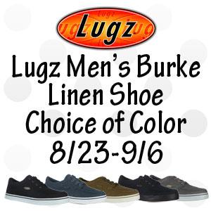 Lugz Men's Burke Linen Shoe Giveaway