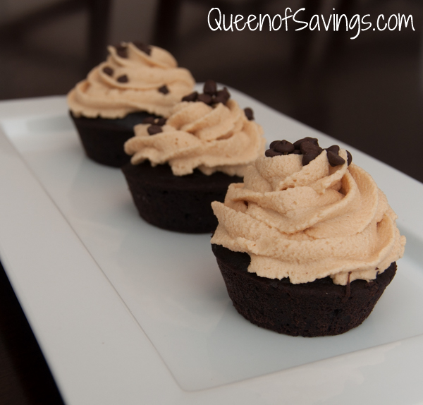 The Pure Pantry Dark Chocolate Cake Mix with Peanut butter Buttercream Frosting Side