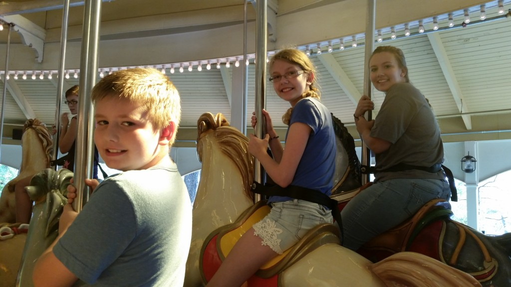 Six Flags  Cemetery Carousel