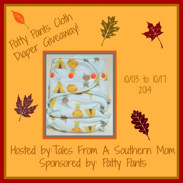 Patty Pants Cloth Diaper Giveaway