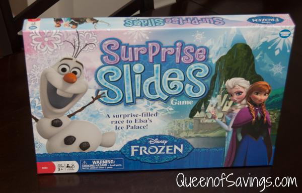 Frozen Surprise Slides