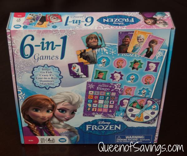 Frozen 6-in-1 Games