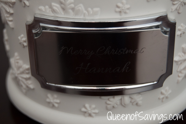 Make-A-Wish® Winter Wonderland Water Globe Engraved