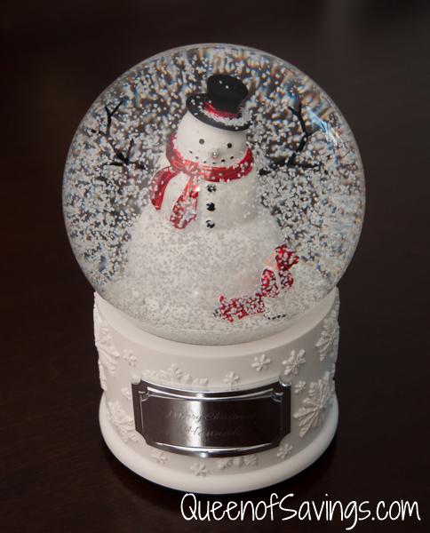 Make-A-Wish® Winter Wonderland Water Globe