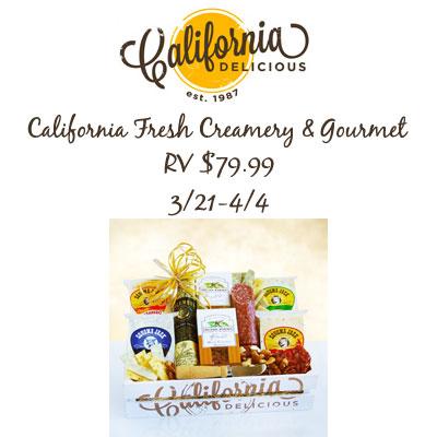 California Creamery & Gourmet Giveaway