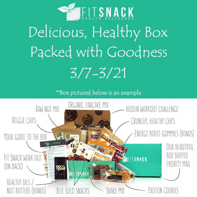 Fit Snack Healthy Box Giveaway