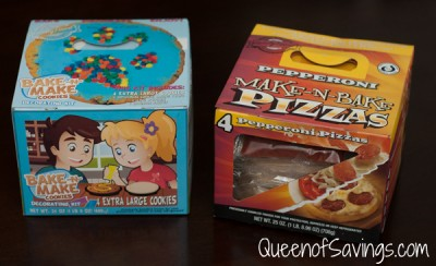 Family Finest Make-N-Bake Pizzas & Bake-N-Make Cookies