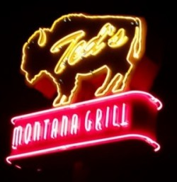 Teds Montana Grill Sign
