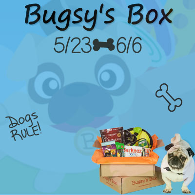 Enter the Bugsy's Box Giveaway. Ends 6/6