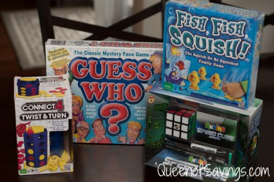 Winning Moves Guess Who Fish Fish Squish Connect 4 Twist and Turn Rubik's Speed Cube