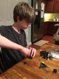 Zach and Rubiks cube