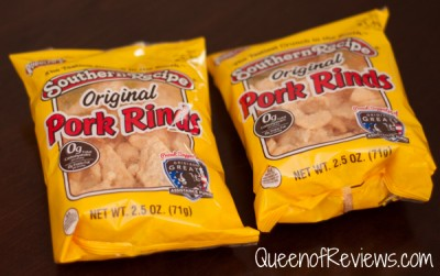 Southern Recipe Pork Rinds from Rudolph Foods