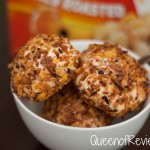 Fried Ice Cream with Cinnamon Chocolate Sauce Made with Honey Bunches of Oats