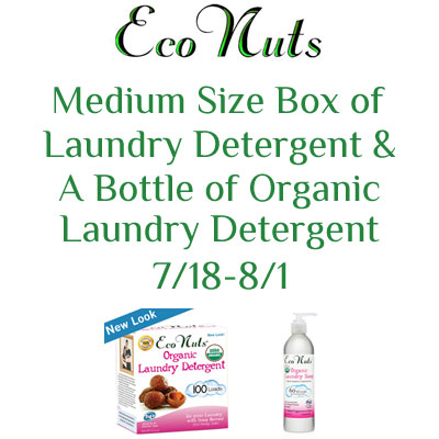 Eco Nuts Giveaway. Ends 8/1