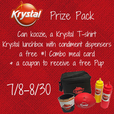 Krystal-Hot Dog Month Prize Pack Giveaway