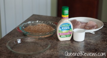 Ranch Baked Chicken Ingredients