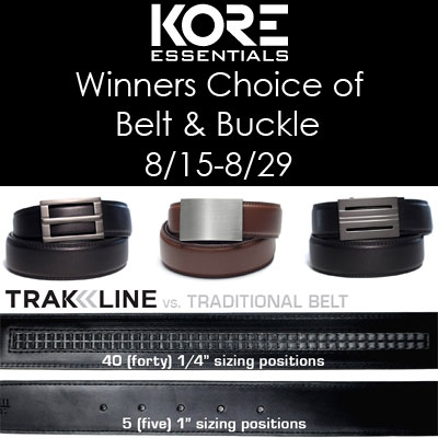 Kore Essentials Trakline Belt Buckle Giveaway Queen Of Reviews Kore essentials coupon 15% off at koreessentials.com. kore essentials trakline belt buckle