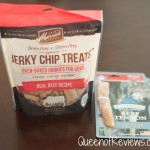 Merrick Jerky Chip Bites & Blue Buffalo Tendon Treats